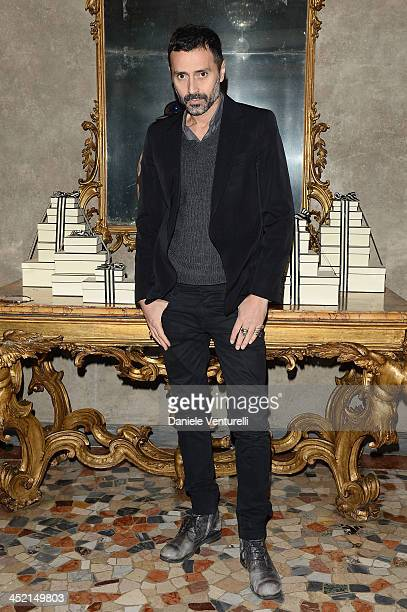 Fabio Novembre attends the 'Jo Malone London Scented' Dinner at Palazzo Crespi on November 26 2013 in Milan Italy