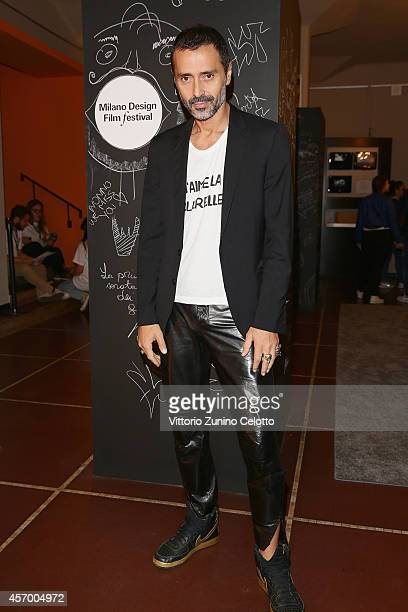 Fabio Novembre attends the 'Milan Design Film Festival' photocall at Cinema Anteo on October 10 2014 in Milan Italy