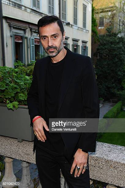 Fabio Novembre attends the T Celebration of Culture Issue And Milan Design Week at Palazzo Crespi on April 11 2016 in Milan Italy