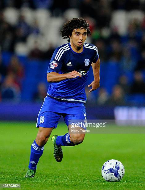 Fabio of Cardiff City during the Sky Bet Championship match between Cardiff City and Middlesbrough at the Cardiff City Stadium on October 20 2015 in...