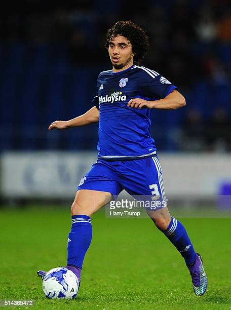 Fabio of Cardiff City during the Sky Bet Championship match between Cardiff City and Leeds United at the Cardiff City Stadium on March 8 2016 in...