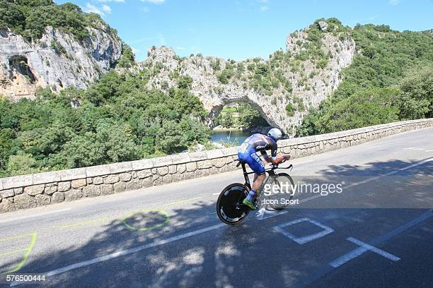 Fabio Sabatini of Etixx Quick Step during the thirteenth stage of the 103rd edition of the Tour de France cycling race a 375km individual time trial...
