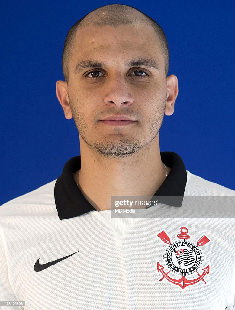 Fabio Santos of Sport Clube Corinthians poses during a portrait session on August 14, 2014 in Sao Paulo,Brazil.