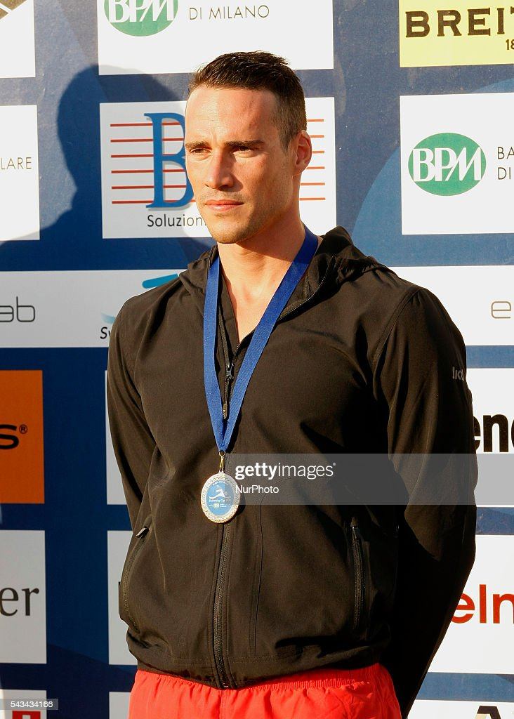 <a gi-track='captionPersonalityLinkClicked' href=/galleries/search?phrase=Fabio+Scozzoli&family=editorial&specificpeople=5966456 ng-click='$event.stopPropagation()'>Fabio Scozzoli</a> during the Swimming Cup 2016 at the Aspria Harbour Club of Milan on june 28, 2016 in Milan, Italy.