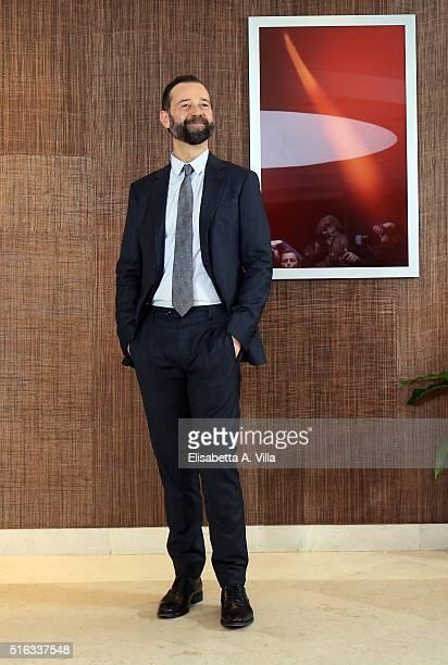 Fabio Volo attends a photocall for 'Un Paese Quasi Perfetto' on March 18 2016 in Rome Italy