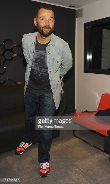 Fabio Volo attends 'Volo Is Back' photocall and press conference on June 28 2013 in Milan Italy
