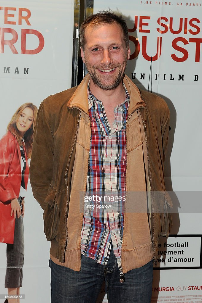 Fabio Zenoni attends the 'Je Suis Supporter Du Standard' Premiere at the UGC Cine Cite des Halles on May 28, 2013 in Paris, France.