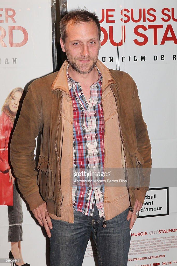 Fabio Zenoni attends the 'Je Suis Supporter Du Standard' Premiere at UGC Cine Cite des Halles on May 28, 2013 in Paris, France.