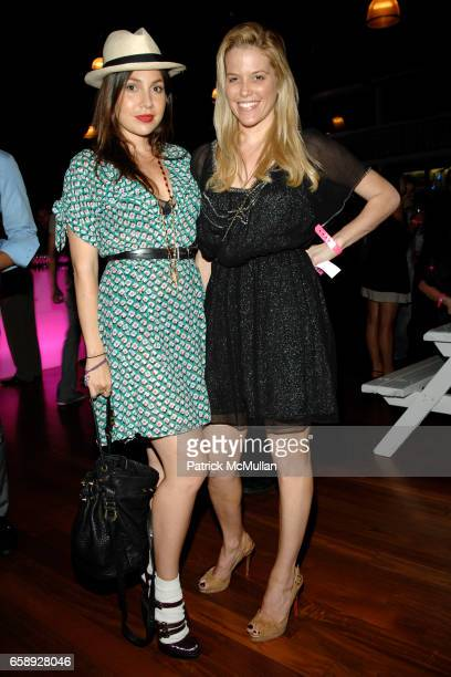Fabiola Beracasa and Ali Wise attend CHARLOTTE RONSON JC PENNEY Present I HEART RONSON at Pier 60 on August 20 2009 in New York City