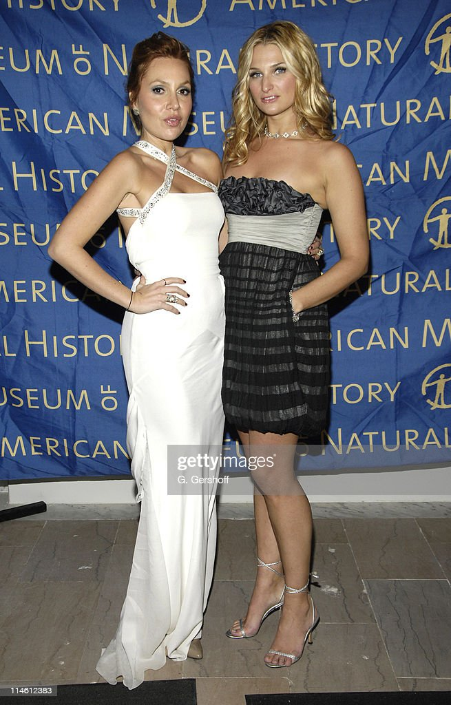 Fabiola Beracasa and Claire Bernard chairperson during American Museum of Natural History Holds its Annual Winter Dance Arrivals in New York City New...
