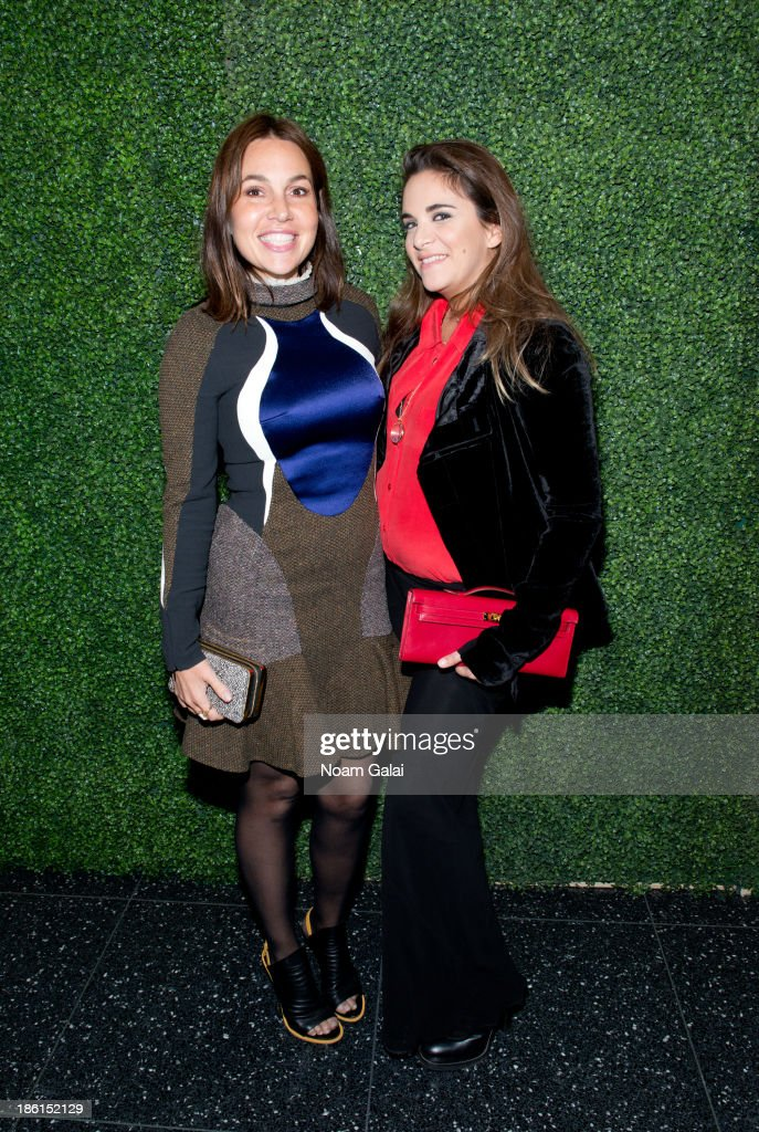 <a gi-track='captionPersonalityLinkClicked' href=/galleries/search?phrase=Fabiola+Beracasa&family=editorial&specificpeople=581581 ng-click='$event.stopPropagation()'>Fabiola Beracasa</a> and Laure Heriard Dubreuil attend the 'To Catch A Thief' RALPH LAUREN screening celebrating the PRINCESS GRACE FOUNDATION at The Museum of Modern Art on October 28, 2013 in New York City.