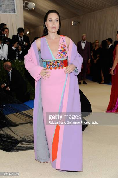 Fabiola Beracasa attends 'Rei Kawakubo/Comme des Garcons Art Of The InBetween' Costume Institute Gala Arrivals at Metropolitan Museum of Art on May 1...