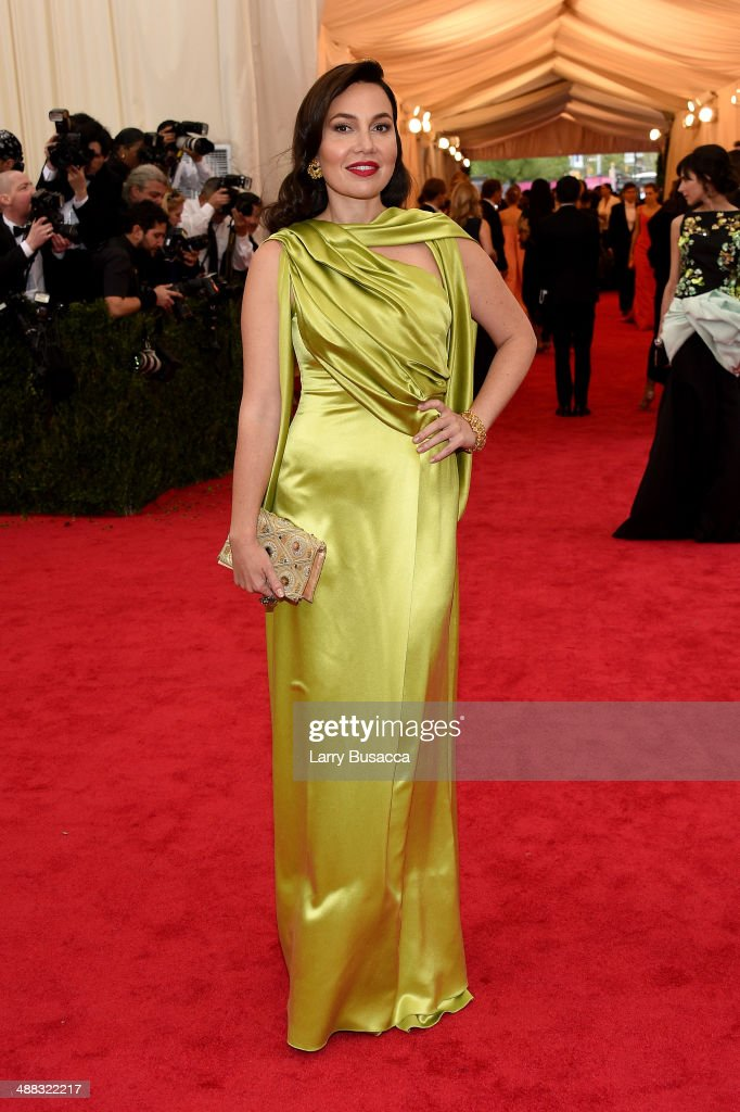 Fabiola Beracasa attends the 'Charles James Beyond Fashion' Costume Institute Gala at the Metropolitan Museum of Art on May 5 2014 in New York City