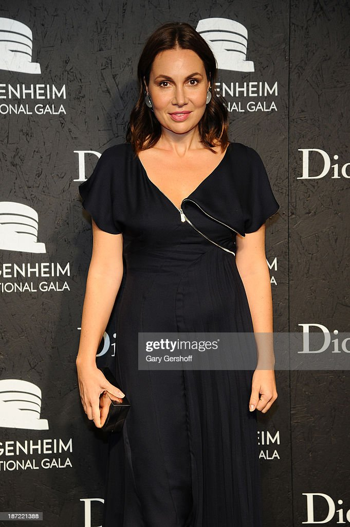 Fabiola Beracasa attends the Guggenheim International Gala, made possible by Dior, Pre-party hosted by The Young Collector's Council at the Guggenheim Museum on November 6, 2013 in New York City.
