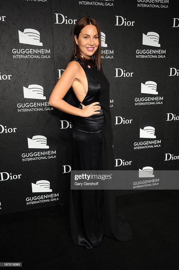 Fabiola Beracasa attends the Guggenheim International Gala, made possible by Dior, at the Guggenheim Museum on November 7, 2013 in New York City.