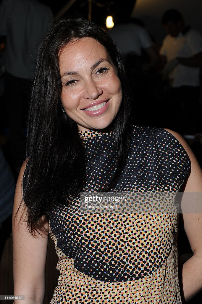 Fabiola Beracasa attends the 'Sadie Coles And Angela Missoni Dinner For Gabriel Kuri And Urs Fischer' during the 54th International Art Biennale on...