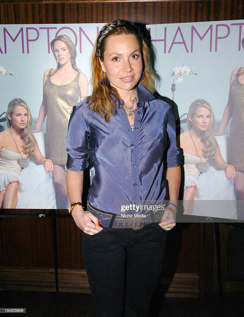Fabiola Beracasa during Anne and Amanda Hearst Celebrate Their Cover Appearance on Hamptons Magazine and Kick Off the Hamptons Season at Room Service...