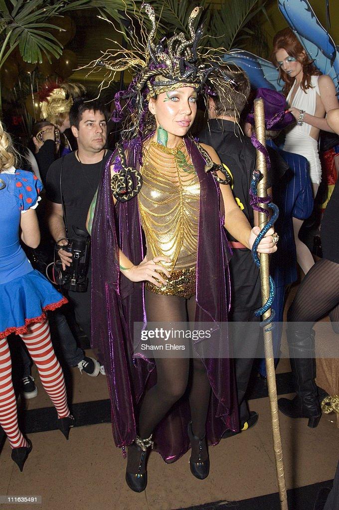 Fabiola Beracasa during Fabiola Beracasa Lydia Hearst Tinsley Mortimer Arden Wohl Olga Rei and Valentine Rei Host 'Golden Blast Halloween' at...