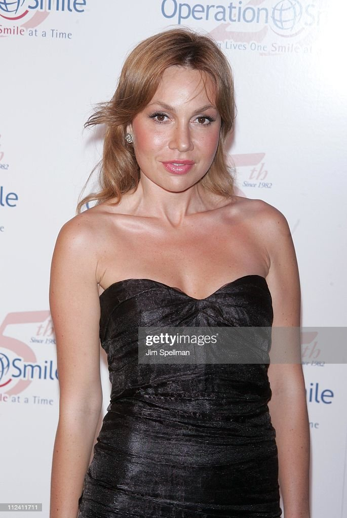 Fabiola Beracasa during Operation Smile's 25th Anniversary Smile Collection Couture Event at 7 World Trade Center in New York City New York United...