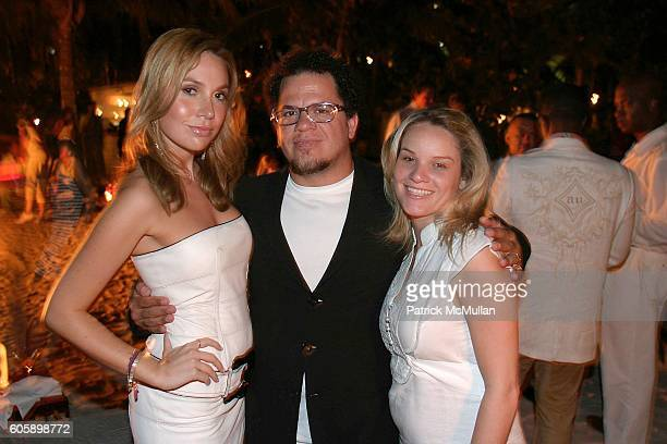 Fabiola Beracasa Romero Brito and Vanessa Doval attend Polo Night at The Raleigh Cohosted by CIRCA at The Raleigh on April 15 2006 in Miami Beach...