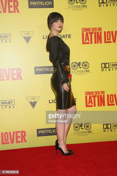 Fabiola Guajardo attends the 'How To Be A Latin Lover' Mexico City premiere at Teatro Metropolitan on May 3 2017 in Mexico City Mexico