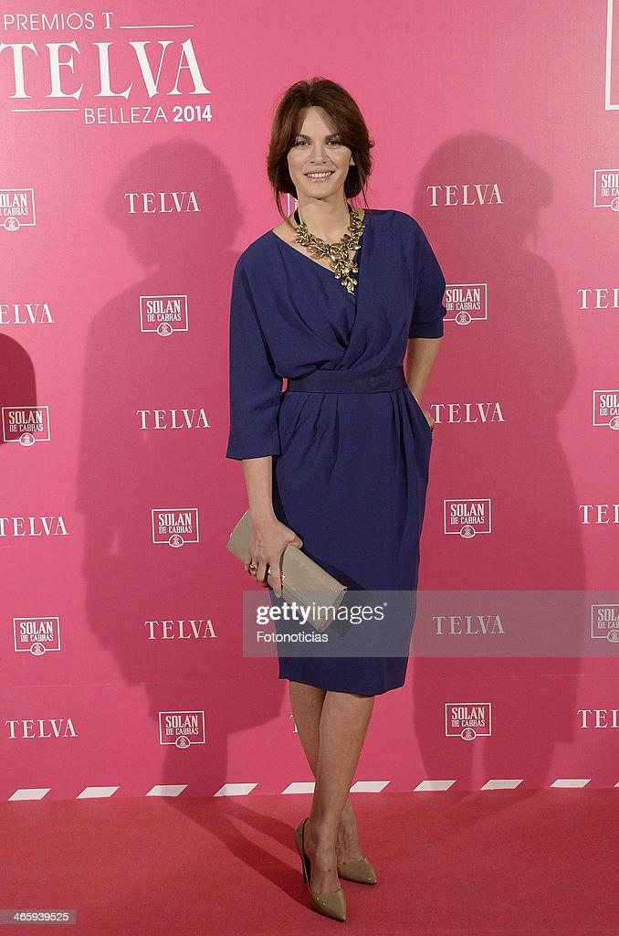 Fabiola Martinez attends 'T de Telva' beauty awards 2014 at the Palace Hotel on January 30, 2014 in Madrid, Spain.