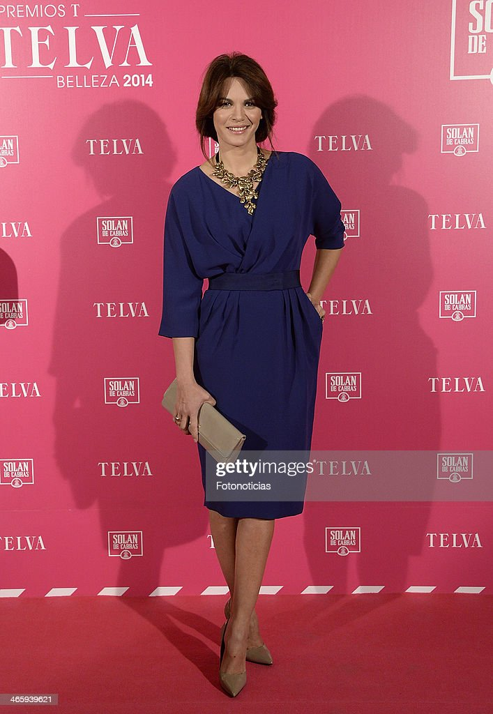 Fabiola Martinez attends 'T de Telva' beauty awards 2014 at the Palace Hotel on January 30, 2014 in Madrid, Spain.