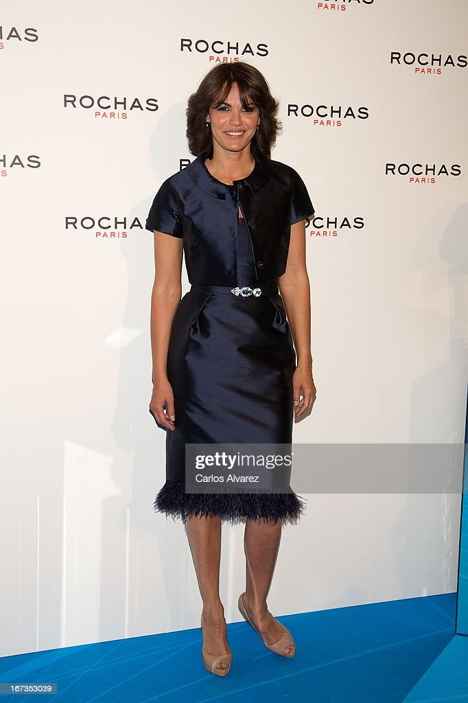 Fabiola Martinez attends the Rochas event at the French embassy on April 24, 2013 in Madrid, Spain.