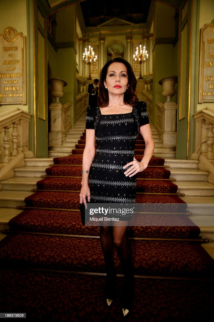 Fabiola Toledo attends The Shopping Night Barcelona's presentaton at the Gran Teatre del Liceu on October 30, 2013 in Barcelona, Spain.