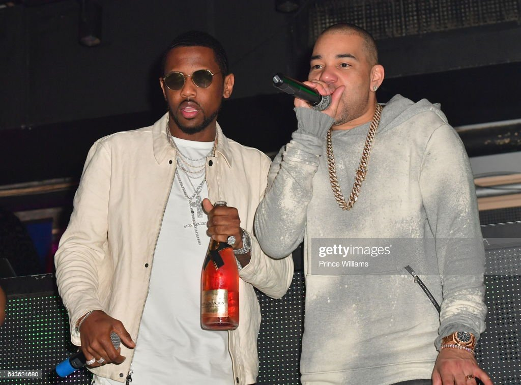 Fabolous and DJ Envy perform at The Rich and Famous All Star Weekend Grand Finale at The Metropolitan on February 20, 2017 in New Orleans, Louisiana.