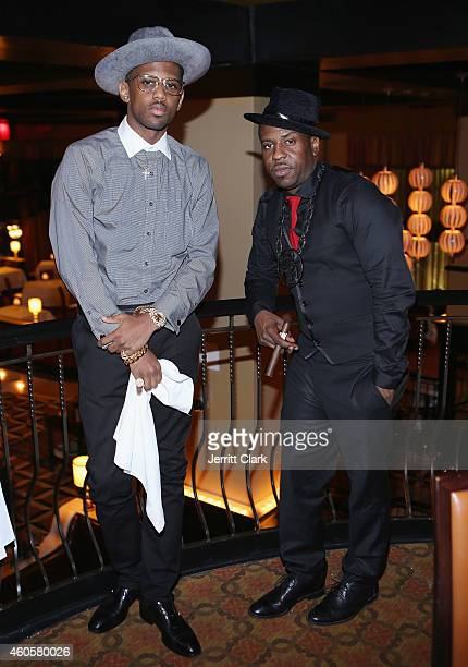 Fabolous and Paul Cain attend Paul Cain's Birthday Dinner at Del Posto on December 9 2014 in New York City