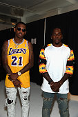 Fabolous and Pusha T attend BET Digital Presents How To Rock Kicks at Milk Studios on August 27 2015 in New York City