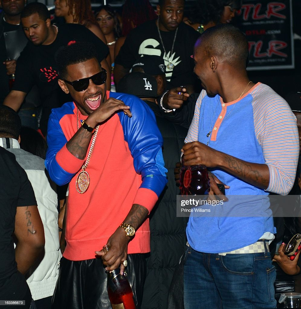 <a gi-track='captionPersonalityLinkClicked' href=/galleries/search?phrase=Fabolous&family=editorial&specificpeople=215255 ng-click='$event.stopPropagation()'>Fabolous</a> and Ruggs attend a party hosted by T.I. and <a gi-track='captionPersonalityLinkClicked' href=/galleries/search?phrase=Fabolous&family=editorial&specificpeople=215255 ng-click='$event.stopPropagation()'>Fabolous</a> at Cameo Nightclub on March 1, 2013 in Charlotte, North Carolina.