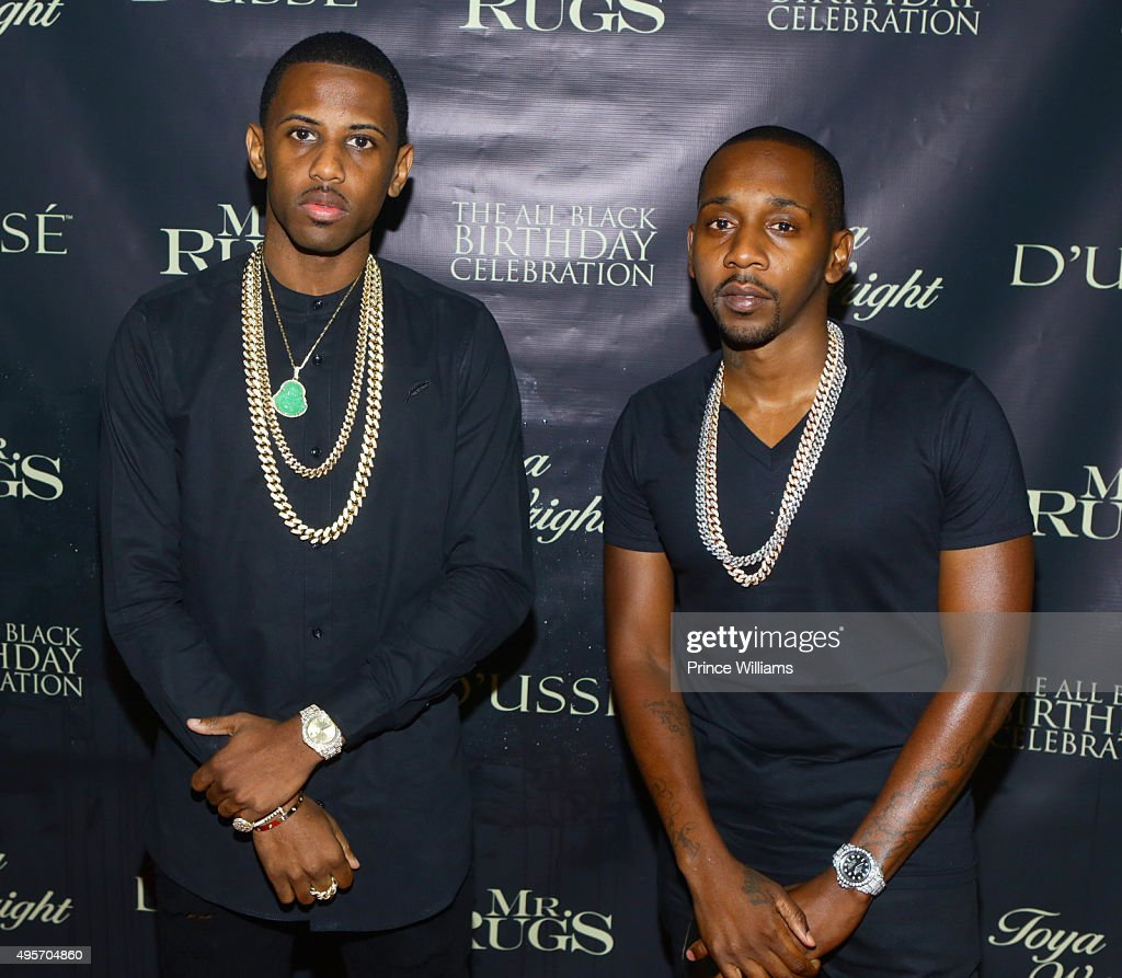 Fabolous And Ruggs Attend All Black Affair For Mr Rugs Toya Wright Birthday  Celebration At XS