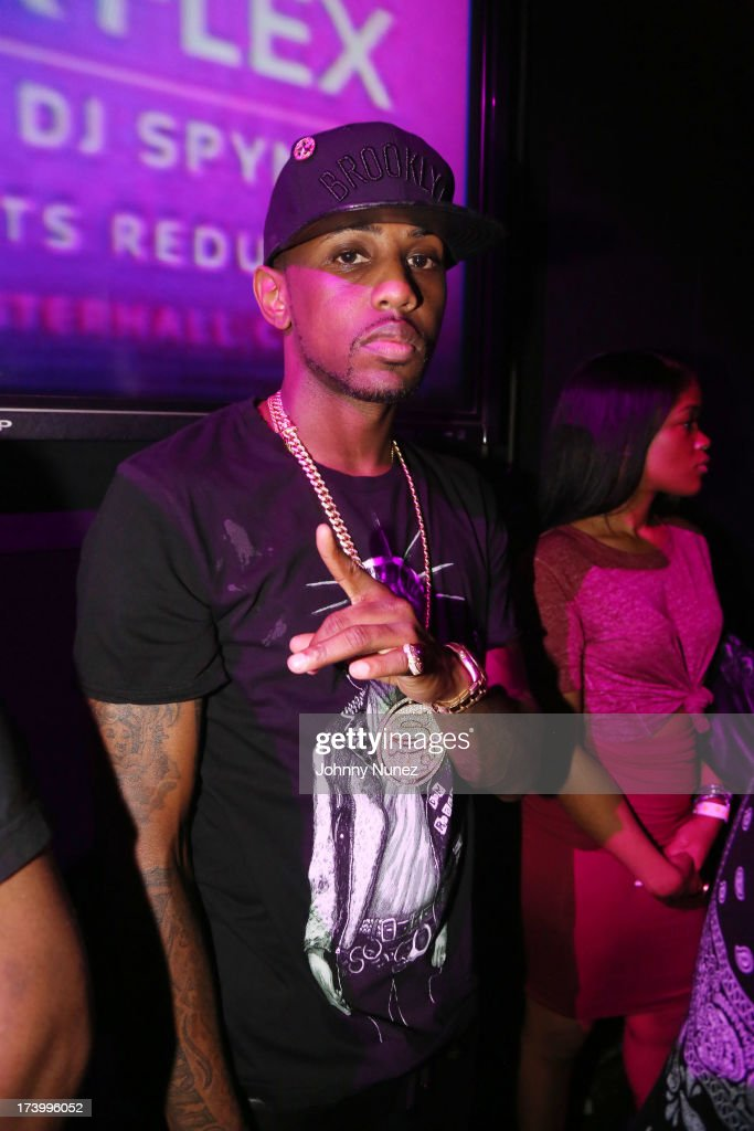 <a gi-track='captionPersonalityLinkClicked' href=/galleries/search?phrase=Fabolous&family=editorial&specificpeople=215255 ng-click='$event.stopPropagation()'>Fabolous</a> attends Ace Hood Album Release Party at Webster Hall on July 18, 2013 in New York City.