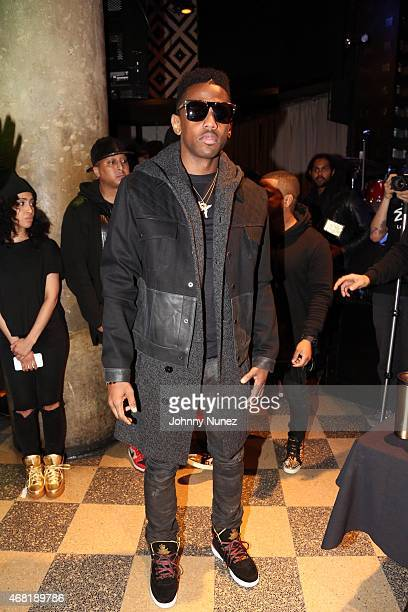 Fabolous attends the Special Limited Edition Ewing Sneaker Launch Event at SOB's on March 26 in New York City