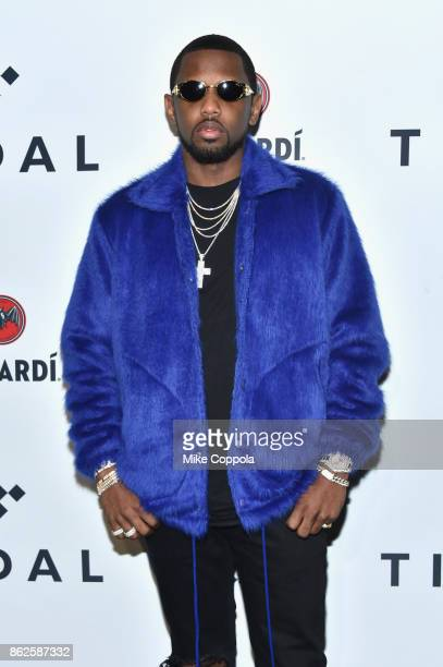 Fabolous attends TIDAL X Brooklyn at Barclays Center of Brooklyn on October 17 2017 in New York City