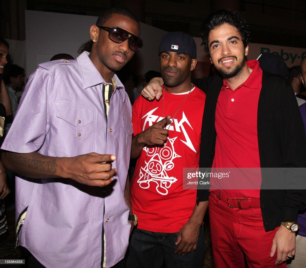 Fabolous DJ Clue and DJ Cassidy attend the Casio GShock 'Shock The World Tour' at Cipriani Wall Street on August 5 2009 in New York City