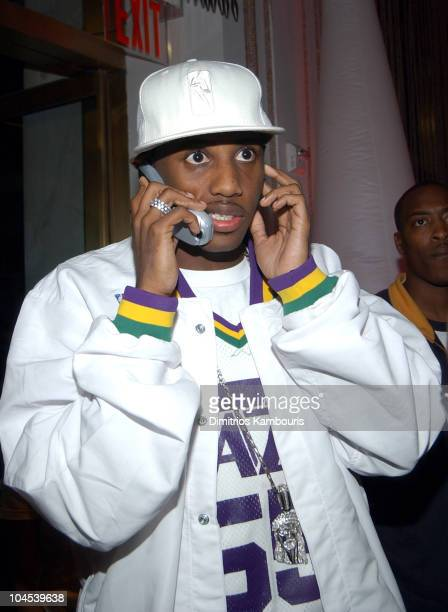 Fabolous during Courvoisier Presents Busta Rhymes PreMTV VMA Platinum Blowout at Django in New York City New York United States