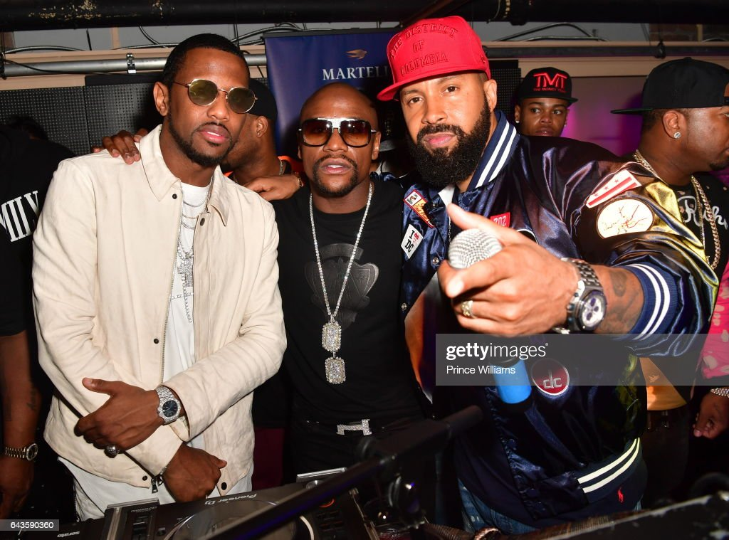 Fabolous, Floyd Mayweather and Kenny Burns attend The Rich and Famous All Star Weekend Grand Finale at The Metropolitan on February 20, 2017 in New Orleans, Louisiana.
