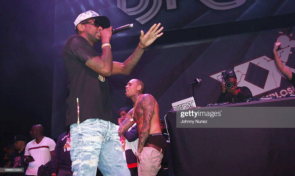 Fabolous performs at the 2nd Annual DJ Prostyle's Birthday Bash at Hammerstein Ballroom on April 16, 2013 in New York City.
