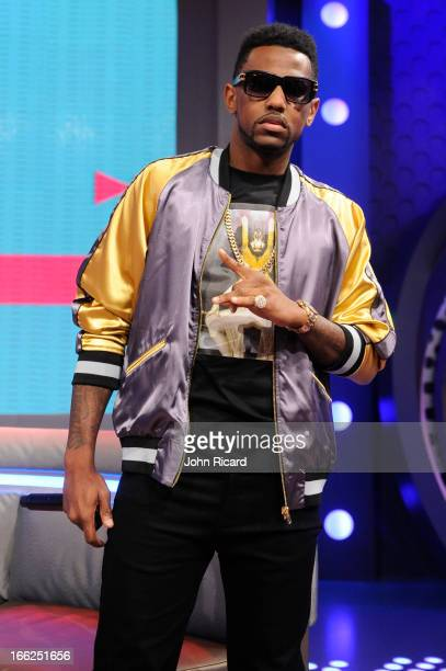 Fabolous visits BET's 106 Park at BET Studios on April 10 2013 in New York City