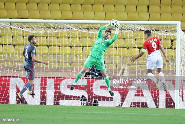 Fabri of Besiktas in action during the UEFA Champions League Group G match between Monaco and Besiktas at Stade Louis II in Fontvieille Monaco on...