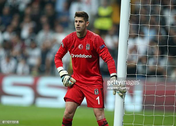 Fabri of Besiktas is seen during the UEFA Champions League football match between Besiktas and Dinamo Kiev at Vodafone Arena in Istanbul Turkey on...