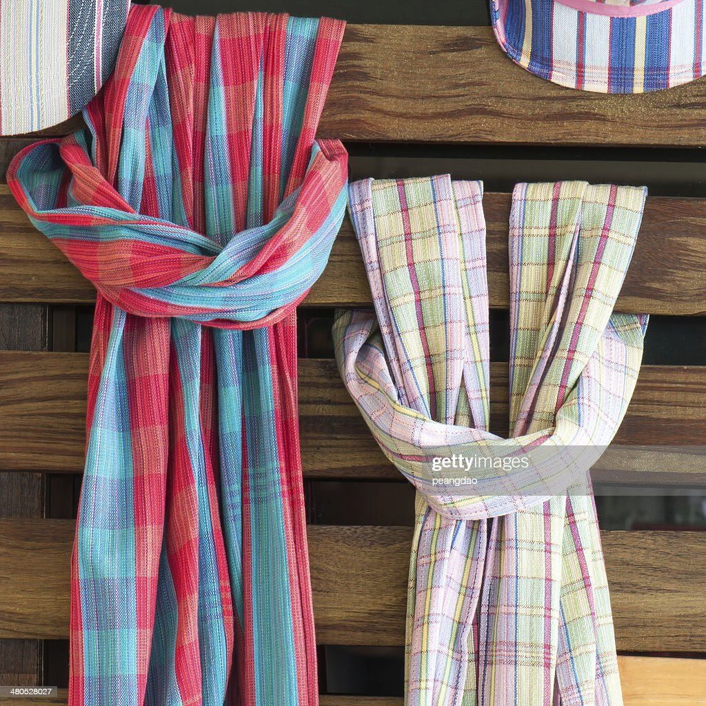 Fabric at the Walkway market : Stockfoto