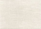 Natural white linen fabric pattern