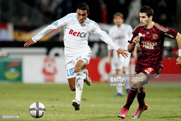Fabrice ABRIEL / Maxime GONALONS Marseille / Lyon 18eme journee de Ligue 1
