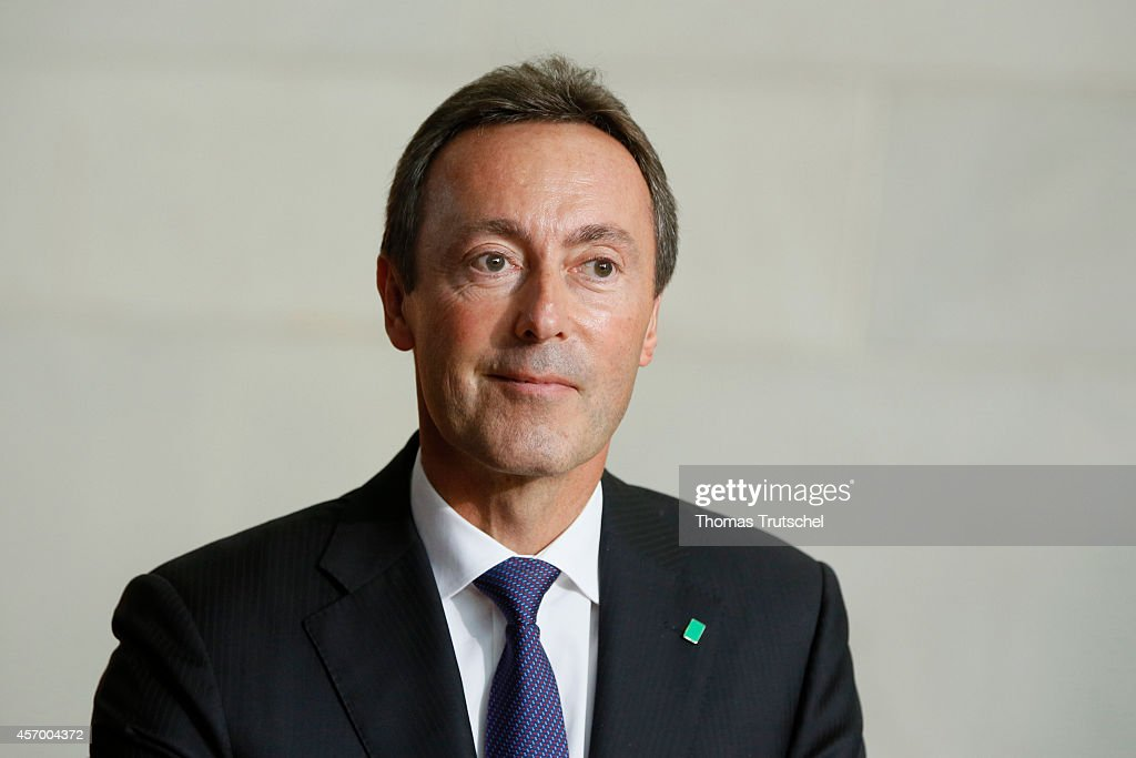 Fabrice Bregier, CEO Airbus Group, pictured on Ocotber 10, 2014 in Berlin, Germany.