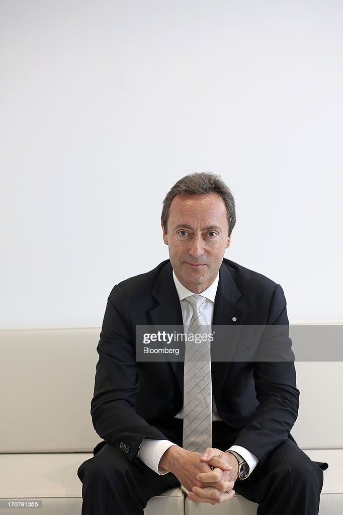 <a gi-track='captionPersonalityLinkClicked' href=/galleries/search?phrase=Fabrice+Bregier&family=editorial&specificpeople=2129650 ng-click='$event.stopPropagation()'>Fabrice Bregier</a>, chief executive officer of Airbus SAS, poses for a photograph on the first day of the Paris Air Show in Paris, France, on Monday, June 17, 2013. The 50th International Paris Air Show is the world's largest aviation and space industry show, and takes place at Le Bourget airport June 17-23. Photographer: Chris Ratcliffe/Bloomberg via Getty Images