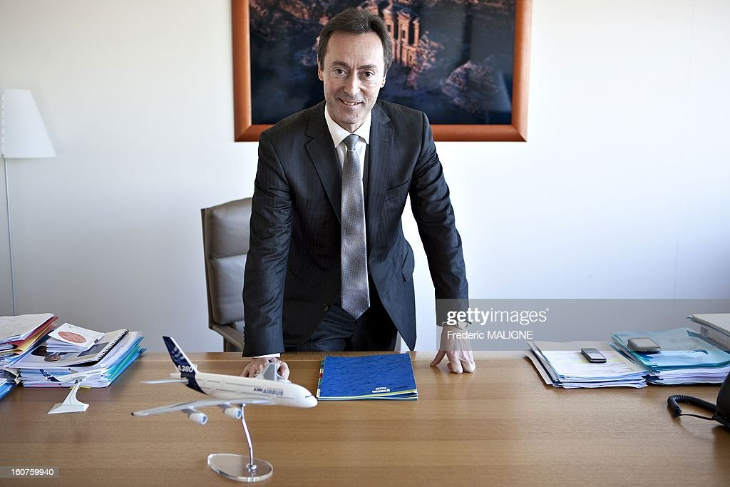 <a gi-track='captionPersonalityLinkClicked' href=/galleries/search?phrase=Fabrice+Bregier&family=editorial&specificpeople=2129650 ng-click='$event.stopPropagation()'>Fabrice Bregier</a>, chief executive officer of Airbus SAS, poses for a portrait session on January 7, 2013 in Toulouse, France.